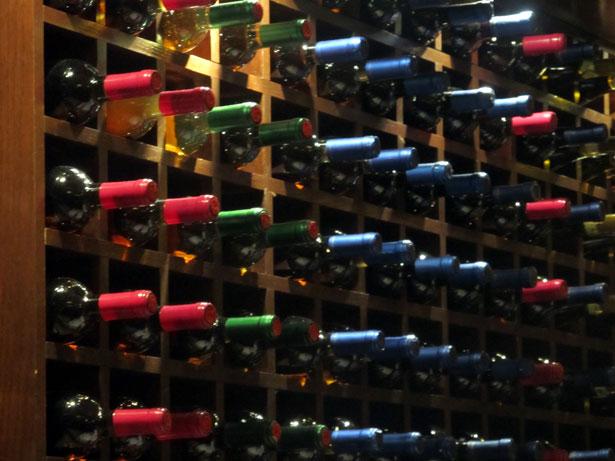 wine-bottles-wide-view public domain