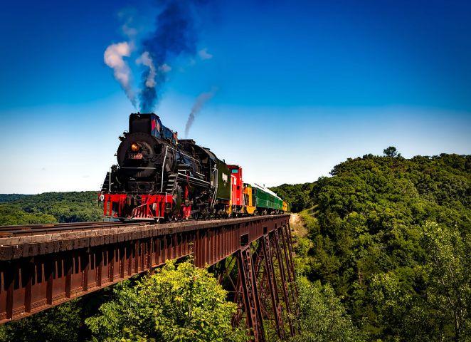 train and trestle