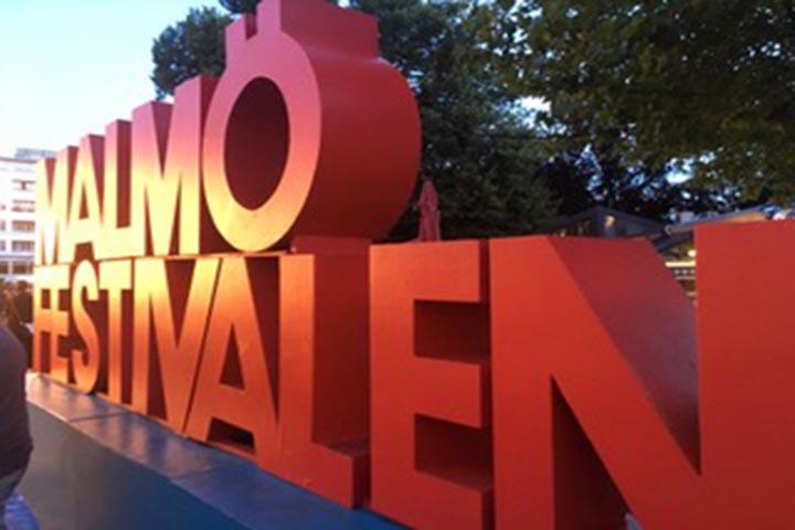 Malmo Festival sign