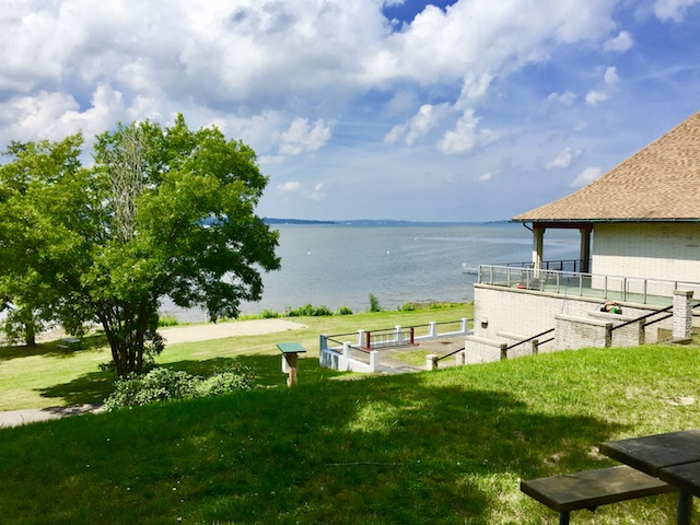 Long Point State Park in Chautauqua County