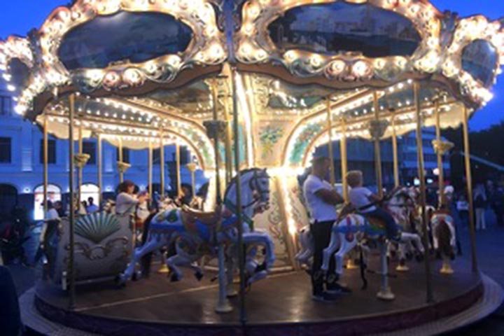 Merry-Go-Round at Malmo Festival