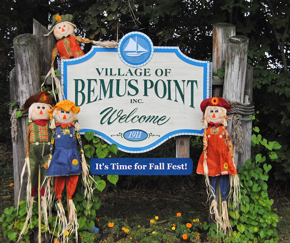 Welcome Bemus Point , New York Sign