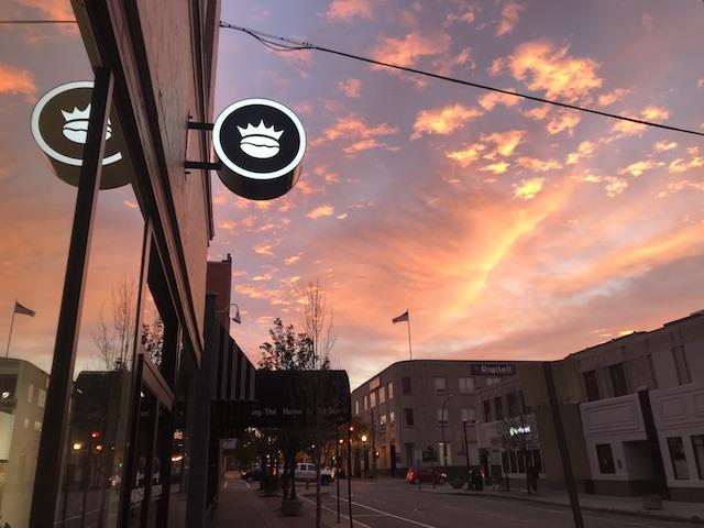 Crown Street Roasting Company Jamestown sunrise