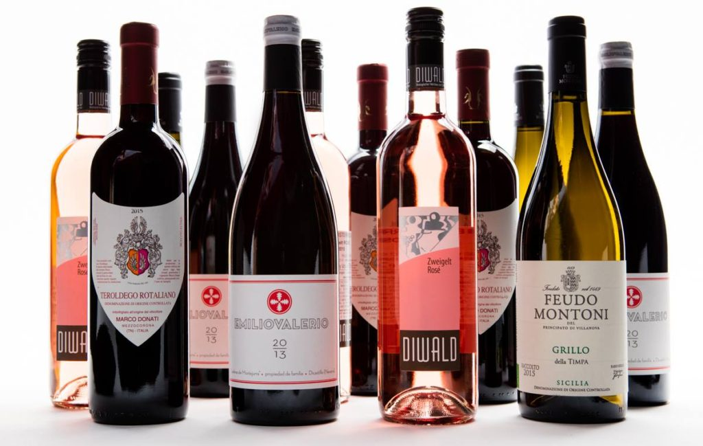 bottles of wine from Plonk Wine club