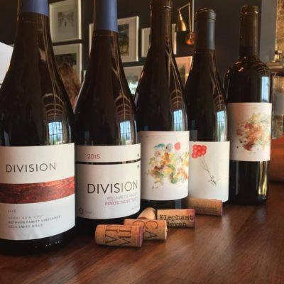 bottles of wine from Winestyr