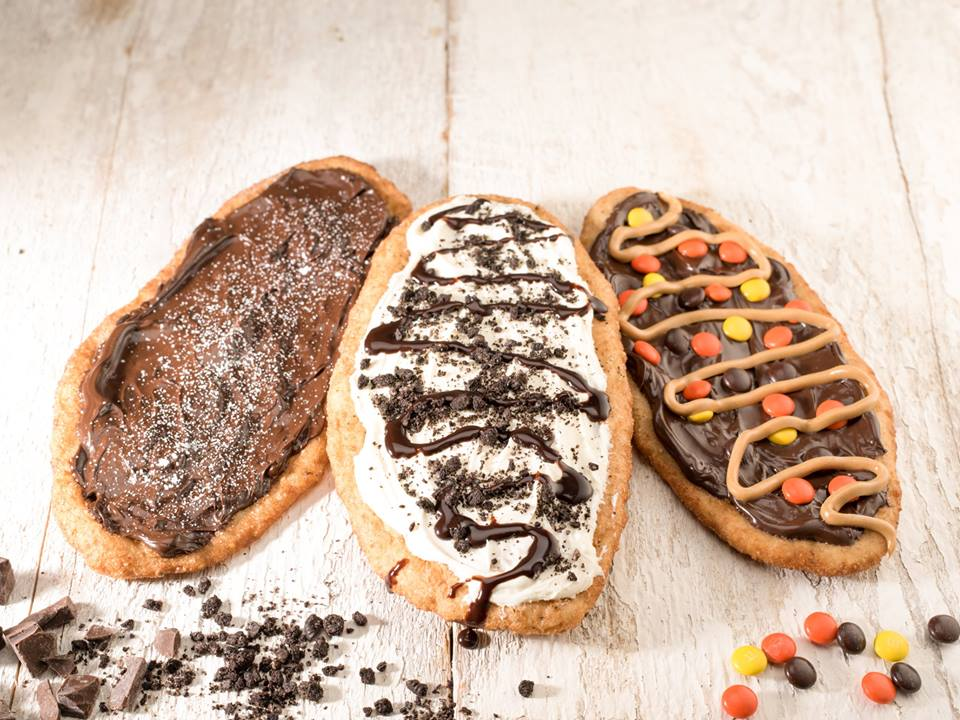 BeaverTails cakes with chocolate