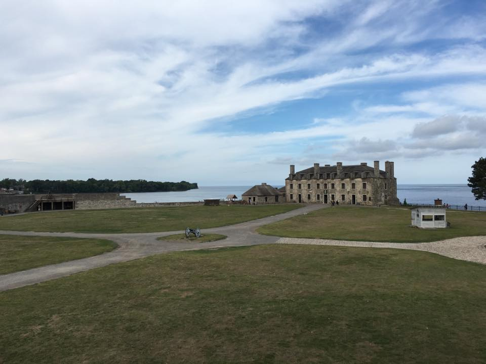 Fort at Fort Niagara by the lake