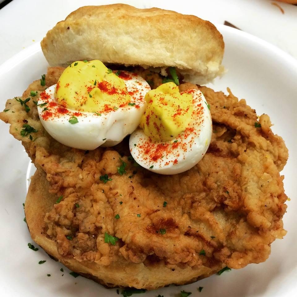 Fried Buttermilk Chicken Sandwich