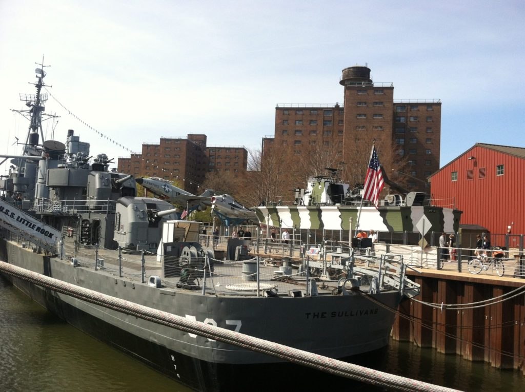 ship at Naval park in Buffalo