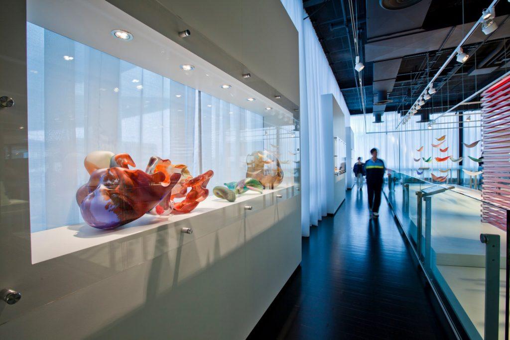 Corning Museum of Glass interior