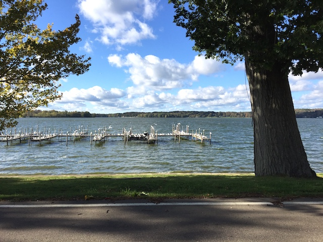 boats in Bemus Point